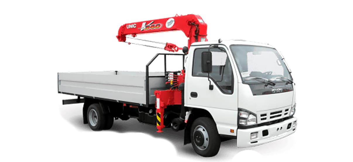 Аренда кран-борта для транспортировки грузов в Кирове